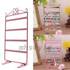 Convenient Earrings Ear Studs Jewelry Display Rack Metal Stand Organizer Holder