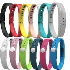 Sports Silicone Wristband Band Strap Bracelet For Fitbit Flex 2 Smart Watch S&L