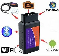 ELM327 USB Interface OBDII OBD2 Diagnostic PRO Car Scanner Bluetooth WIFI Wired