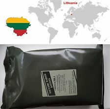 Food Ration MRE Army Military Pack Lithuanian Emergency Survival Set Combat Meal