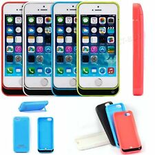 iPhone 5 5S Power Bank Portable External Battery Charger Charging Case 2600mAh
