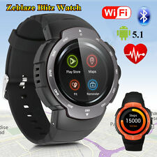 Bluetooth Smart Watch Phone Mate GSM SIM GPS WiFi Camera For Android Samsung HTC