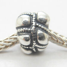 Genuine Authentic S925 Sterling Silver Threaded Journey Charm bead