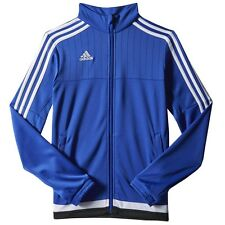 Adidas Women's Tiro 15 Bold Blue/White/Black Training Jacket