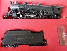 Brass Imports HO Key Imports PRR L-2s 2-8-2 Steam Locomotive & Tender