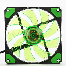3-Pin/4-Pin 120mm PWM PC Computer Case CPU Cooler Qurad 15 LED Light Cooling Fan