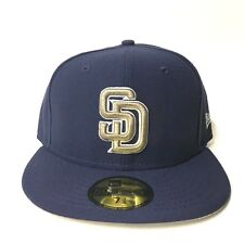 San Diego Padres New Era City Factor California Flag 59FIFTY Fitted Hat Navy