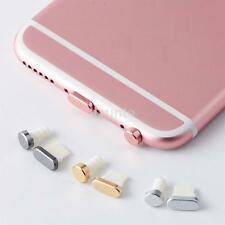 Earphone Charger Silicone Dock Anti Dust Plug Stopper Cap For iPhone 5 6 6S lx
