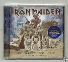 IRON MAIDEN SOMEWHERE BACK IN TIME CD GREATEST HITS NEW