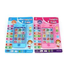 Children Tablet phone Russian Language Learning Musical Toy Learning Educational