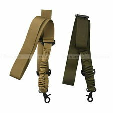 Tactical Adjustable Single Point Sling Airsoft Gun Sling Rifle Strap for Hunting