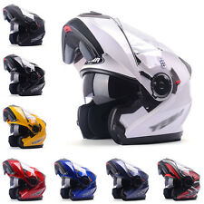 Best Adult Flip Up Motorcycle Helmet Motorbike Racing IN945 Full Face Safe Guard