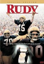 RUDY SPECIAL EDITION 2000 DVD~BRAND NEW~SEALED
