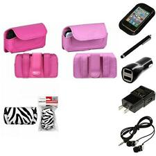 For LG Cosmos Touch VN270 Holster Belt Clip Case Pouch Headphones