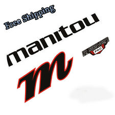 Manitou R7 PRO Mountain Bike Bicycle front Fork Stickers For MTB cycling Decals