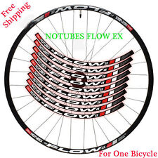 DT Swiss NO TUBES FLOW EX Mountain Bike wheel set Rim Sticker for MTB Race Decal