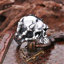 Stylish Skull Claw Punk Biker Cool Ring Jewelry Stainless Steel Accessories