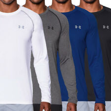 Under Armour HeatGear Tech LongSleeve T-Shirt Mens Gym Training Sports Tee 2017