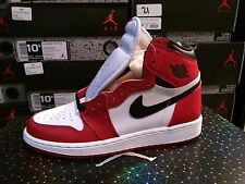 "Nike Air Jordan 1 Retro High ""Chicago"" OG White Red 575441-101 GS"
