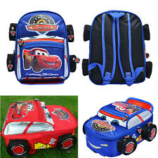 Disney Pixar 95 Cars McQueen Kids Backpack School Bags for Children Boys Girls
