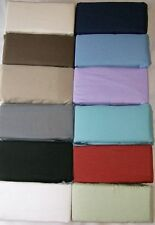 Sale 800-TC Very Soft 2PC Pillow Cases/Shams Solid 100%Cotton Choose Size Gift