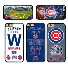 CHICAGO CUBS MLB World Series Champions Hard Phone Case Cover For iPhone/Samsung