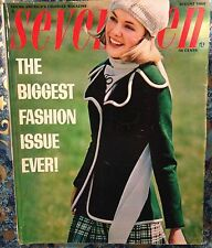 SEVENTEEN MAGAZINE Fall Fashion W TEEN Young Miss Models W 60's Ads