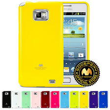 GOOSPERY® Pearl Jelly Slim Fit TPU Cover Bumper Case For Samsung I9100 Galaxy S2