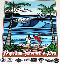 NWT Heather Brown Original Art Women Triple Crown Surfing Contest Hawaii T Shirt