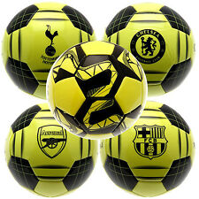 Premier League Football Soccer Official Team Match Training Ball Size 5 Licensed