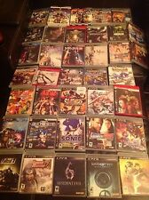 Choose A PlayStation 3 PS3 Game - Big Selection, Great Condition, Free Shipping
