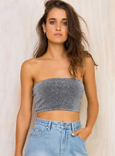 New Women's Ebonie N Ivory Moon Lover Crop