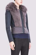 NWT Elie Tahari Womens MAE LAMB SHEARLING WOOL JACKET  $779 Retail