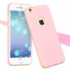 For IPhone 7/6 Plus/5/5s Ultra Thin Candy Color Soft Matte TPU Back Case Cover