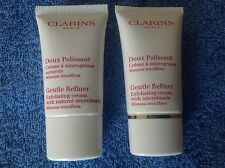 Clarins Gentle Refiner Exfoliating Cream  2 x 15ML total 30ml  BNWOB Unsealed