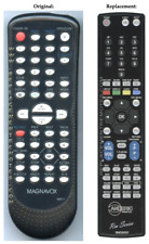 New Magnavox NB677UD dvd/vcr Remote Control Replacement by Anderic