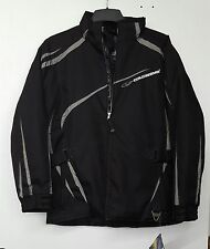 Coldwave Womens Polar Cap Snowmobile Jacket Black / Gray  ** Large and XL  **