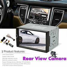 7002 7 Inch Car MP5 DVD Video Player 2 Din With AM+RDS+ Mobile Phones Internet B