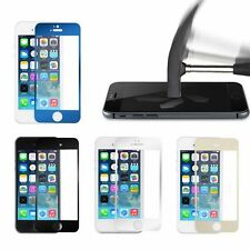 Color Mirror Premium Real Tempered Glass Screen Protector For iPhone 5 5S BE