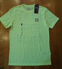 NWT UNDER ARMOUR SHIRT CHARGED COTTON LOOSE YELLOW MENS SMALL LARGE XL