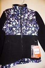 The North Face Women's Denali Jacket black/floral crystal print sz XS or S NWT
