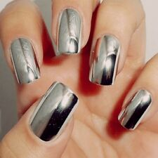 Stickers Decoration Beauty Foils Wraps Golden Nail Art Patch Smooth Silver