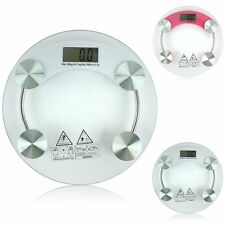 Digital Glass LCD Electronic Weight Body Bathroom Health Scale MAX 150kg/330lb