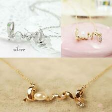 Girls Beautiful Pendant LOVE Letter Necklace Chain