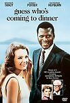 Guess Who's Coming to Dinner (DVD, 1998)Sidney Poitier,Spencer Tracy,Hepburn