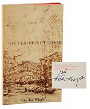 WRIGHT, Charles / Venice Notebook Signed Limited Edition Signed 1st ed #117151