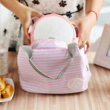 Portable Picnic Case Lunchbag Lunch Box Storage Bag Thermal Insulated Cooler