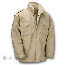 US MILITARY STYLE M-65 COMBAT FIELD JACKET ARMY VIETNAM M65 BEIGE
