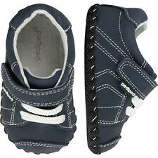 Pediped Originals JAKE NAVY Baby Boys Full Leather Soft Sole Shoes 12-24 months