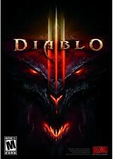 Diablo III (Blizzard)Game For PC/ Mac *Free Shipping*